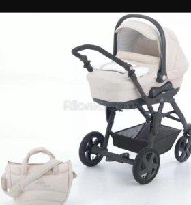Итальянская коляска cam 3в1 с камнями Swar