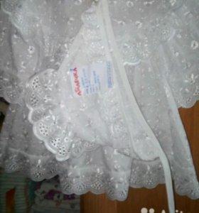 Платье для крещения малышки