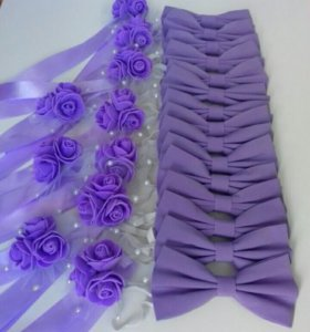 Бабочки и браслеты на свадьбу