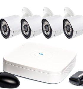 Комплект видеонаблюдения для улицы