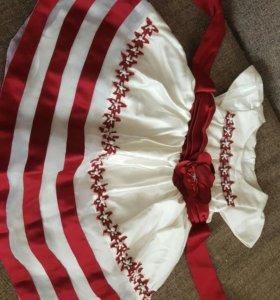 Праздничное детское платье