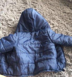 Курточка состояние новой