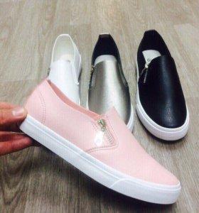 Обувь женская розовые