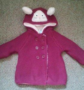 Курточка вязаная