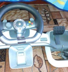 Руль оригинальный от Xbox 360