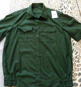 Рубашка военная. Новая.