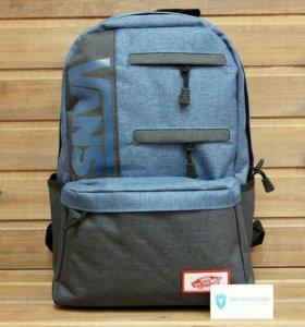 Рюкзак Vans, черный с синим