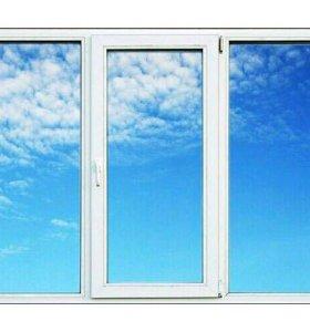 Окно металлопластиковое 1750*1400