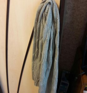 Вязаный шарфик с люрексом