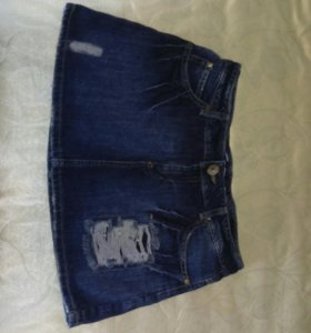 Новая джинсовая юбка 46