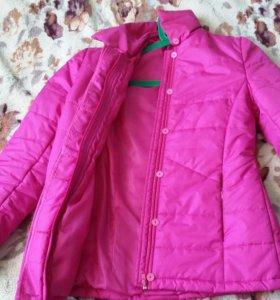 Приталенная куртка на синтепоне