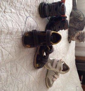 Обувь на мальчика 21, 22 размер