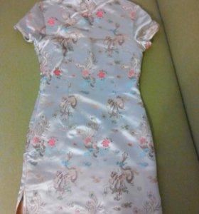 Платье в японском стиле. Новое.