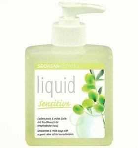 Жидкое мыло Sodasan для чувствительной кожи 300 мл