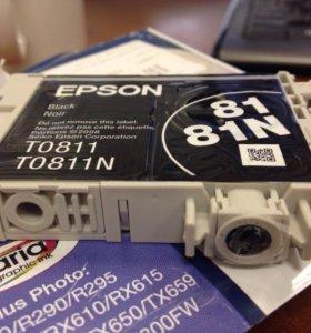 Картридж Epson TO811
