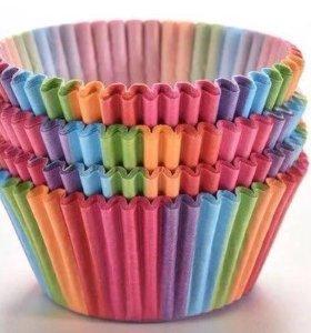 Бумажные формочки для кексов