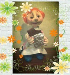 Кукла ручной работы Дашуля