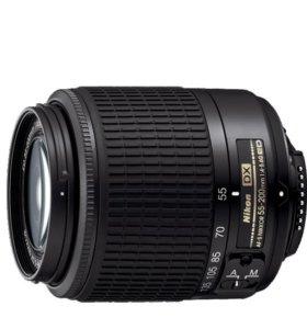 Объектив AF-S DX Zoom-NIKKOR 55-200mm f/4-5.6G ED