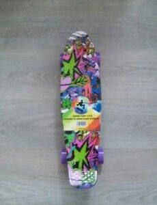 Скейтборд (круизер пласт борд) от Penny. Женский.