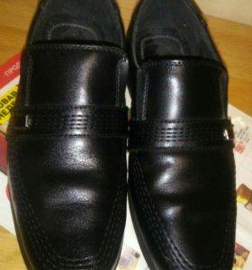 Туфли на мальчика (33) в очень хорошем состоянии
