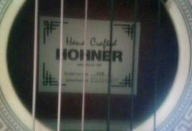 Гитара акустика hohner