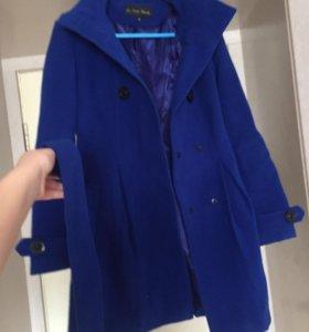Кашемировое фирменное пальто