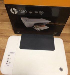 МФУ(принтер,сканер,копир) hp deskjet 1510