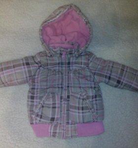 Куртка демисезонная для девочки 1-1,5 года