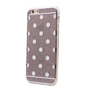 Чехол iPhone 6/6S блестки