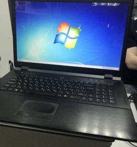 Отличный ноутбук dns 17n i3 4gb gf330 320gb