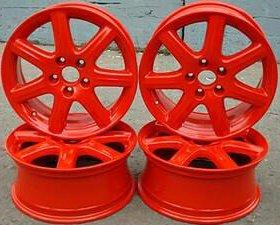 Порошковая покраска автомобильных дисков