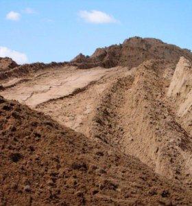 Песок щебень нерудные материалы