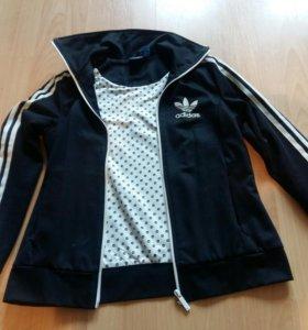 Adidas оригинал кофта на молнии