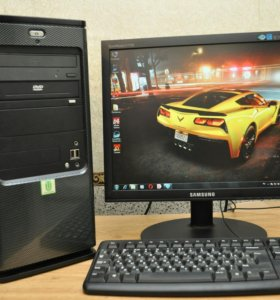 Компьютер Dual Core E5400\2.7Ghz c nvidia 8400GS