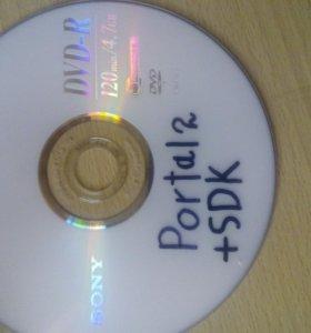 Диск с игрой Portal 2(для пк)