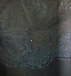 Свадебное ( вечернее платье)
