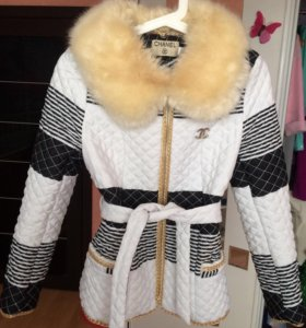 Оригинальная стёганая курточка