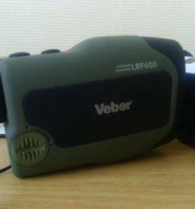 Монокуляр Veber 6*25 с дальномером LRF600 зелёный