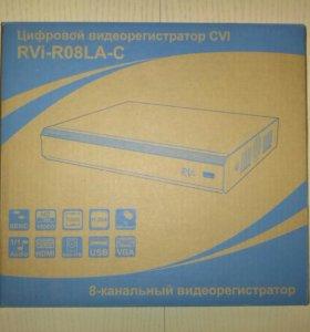 Цифровой 8-канальный видеорегистратор RVi-R08LA-C