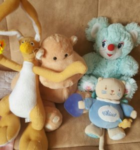 Мягкие игрушки и другие