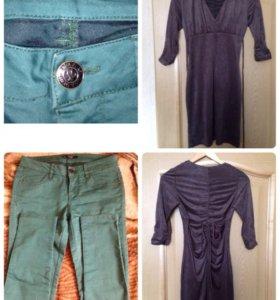 Платье размер - 34, штанишки - XL
