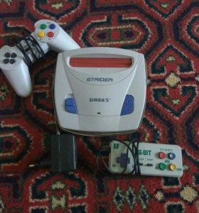 Игровая приставка по типу Sega.