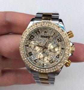 Rolex Daytona золото/серебро женские