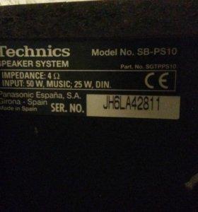 Продаю колонки окружающего звучания Technics