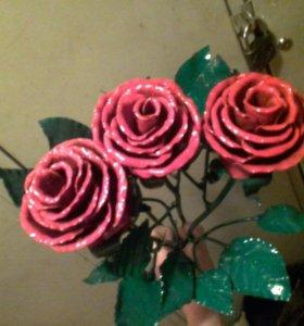 Розы ковка
