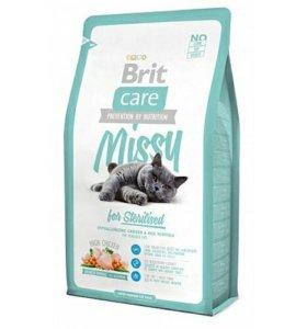 Brit для стерилизованных котов/кошек 2 кг