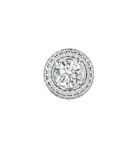 Серебряная подвеска с фианитом 94030733