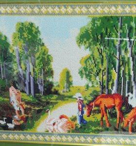 Картина мозаика бисером 89516341946