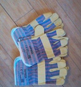 Перчатки рабочие 5 пар