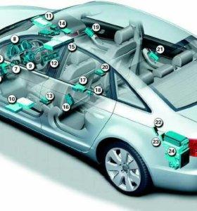 Комьютерная диагностика электроники автомобилей.
